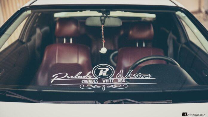 Honda Prelude Interior