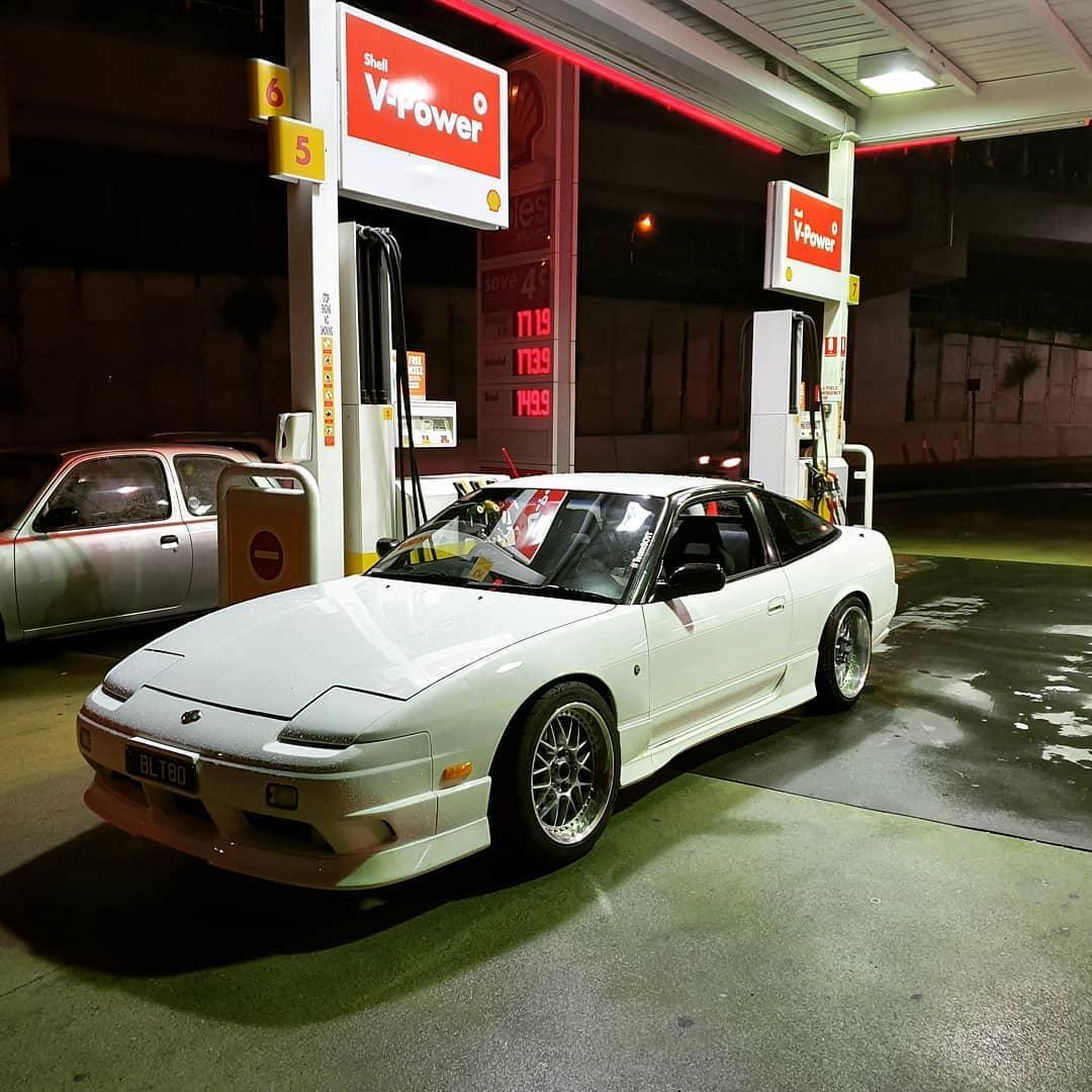 1990 Nissan 180sx Front End
