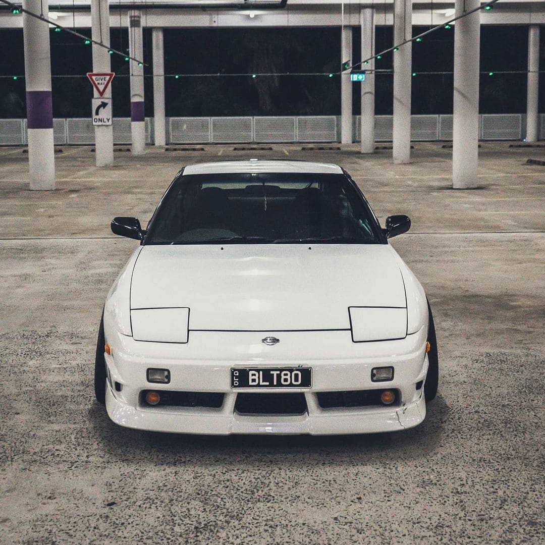 Modded 1990 Nissan 180sx Front lip