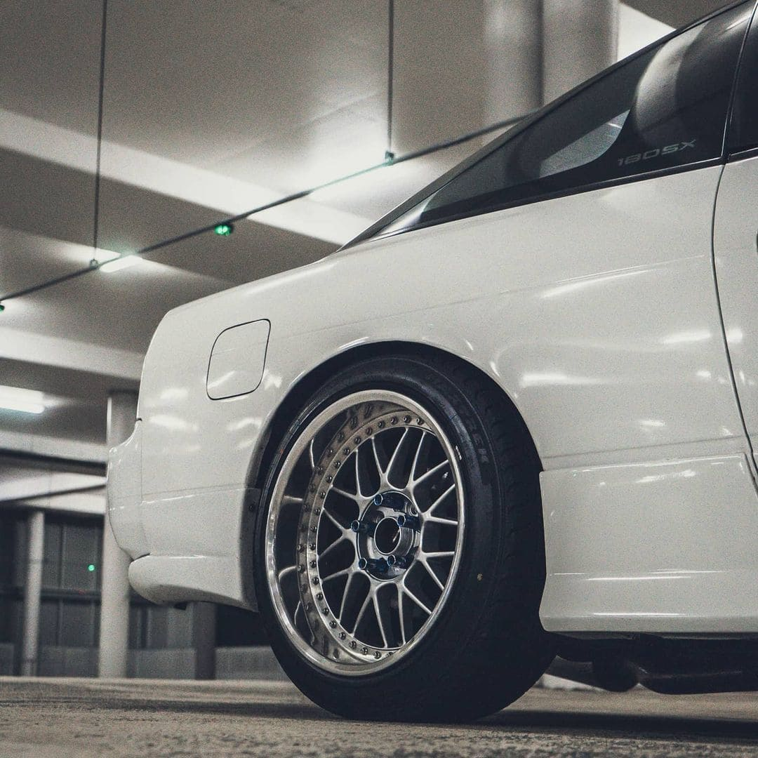 1990 Nissan 180sx With Rims
