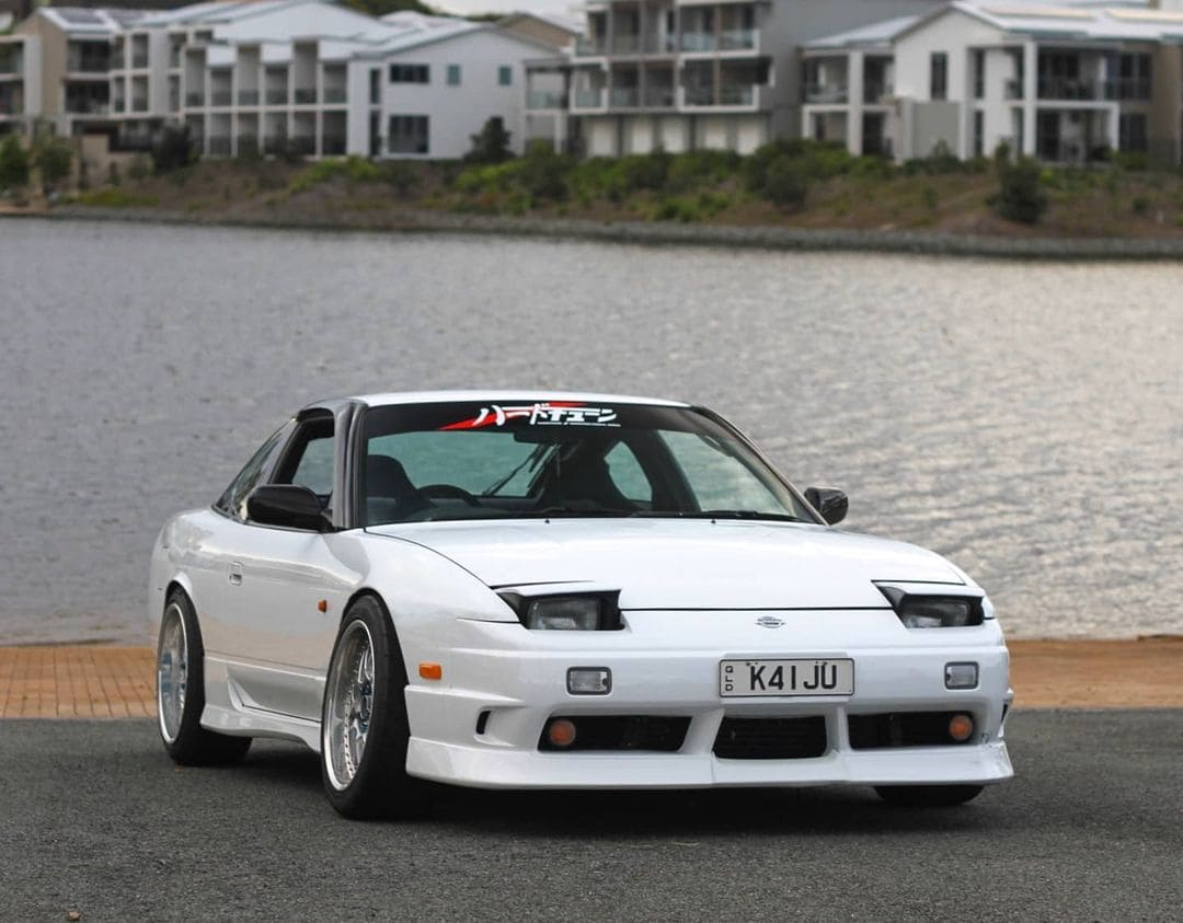 Lowered 1990 Nissan 180sx
