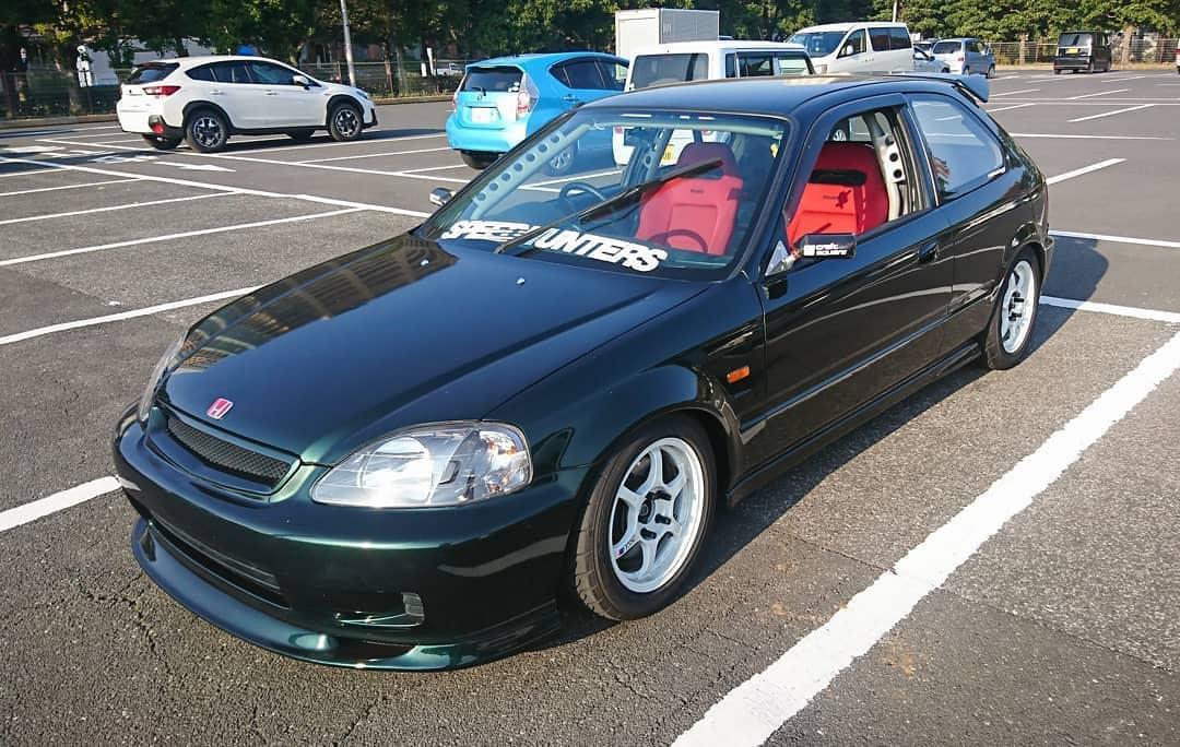 1999 JDM Honda Civic Type R With Rims