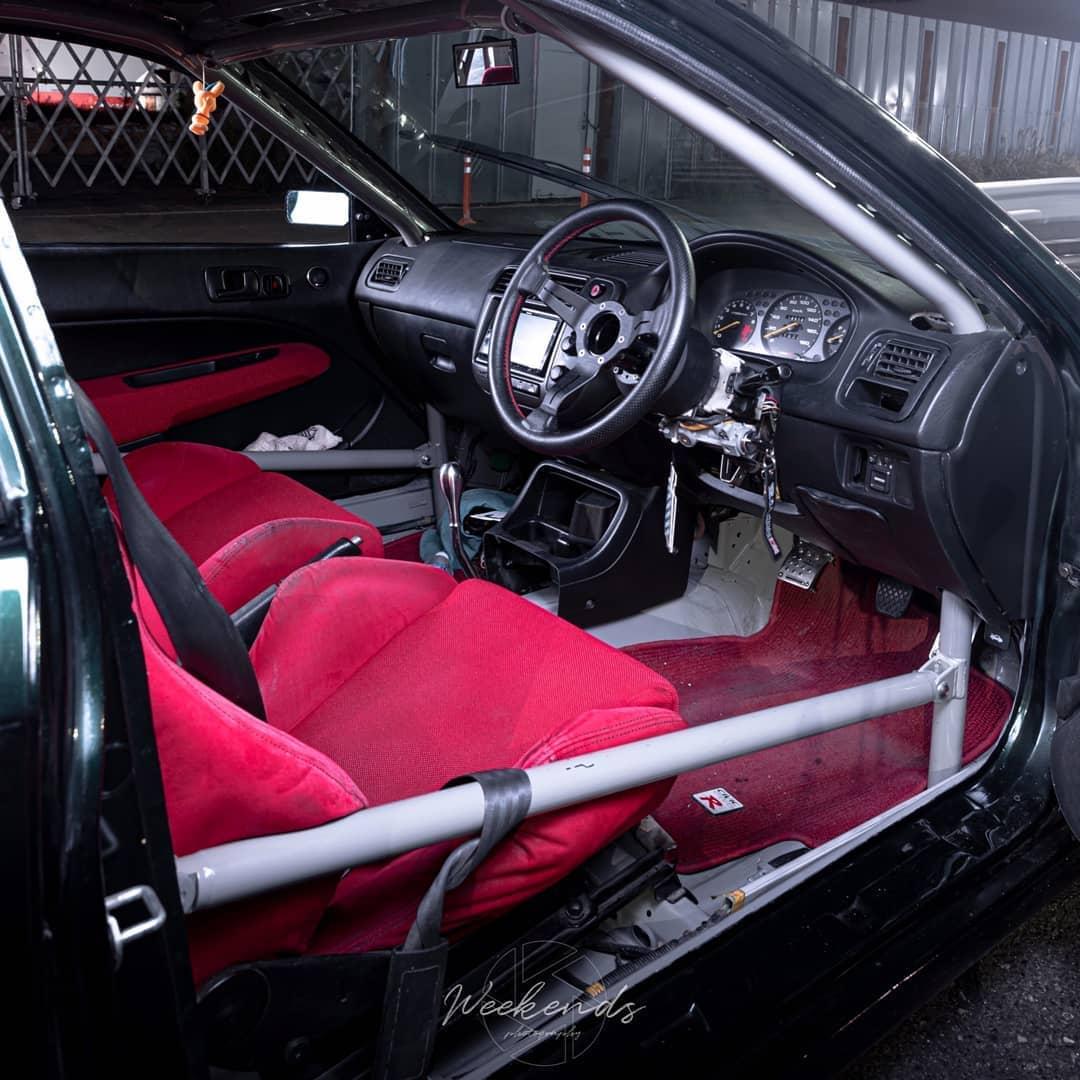 1999 JDM Honda Civic Type R Interior
