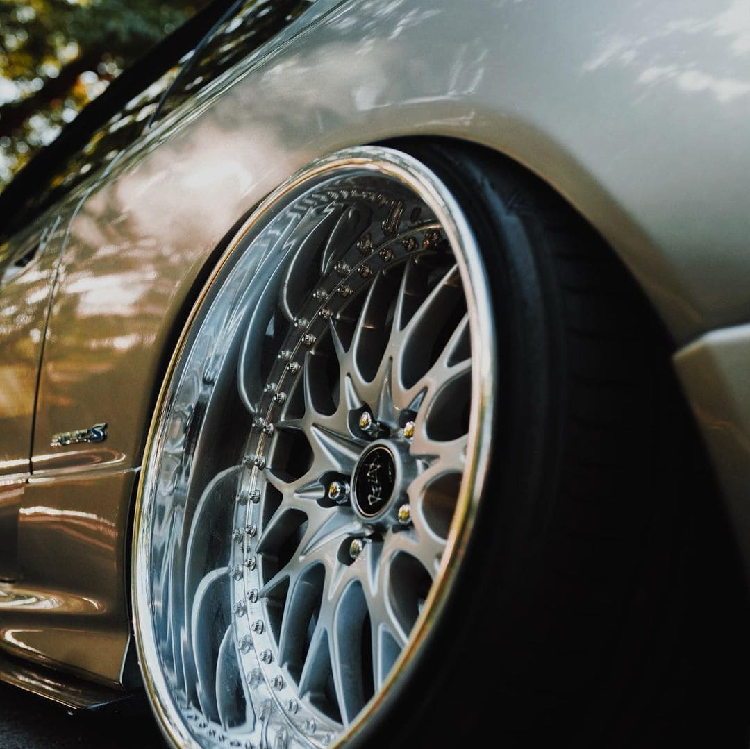 Stanced 2002 S15 Nissan Silvia