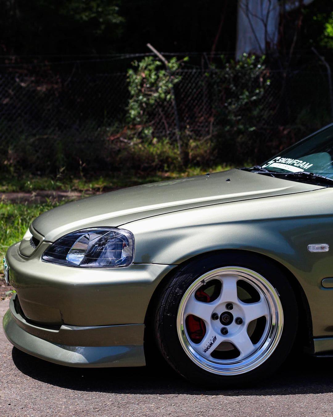 Honda Civic Hatchback Front lip