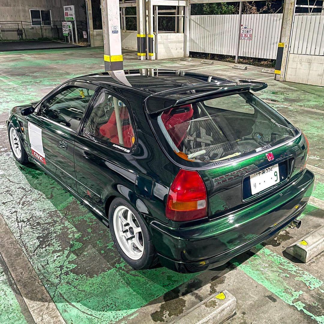1999 JDM Honda Civic Type R Rear End