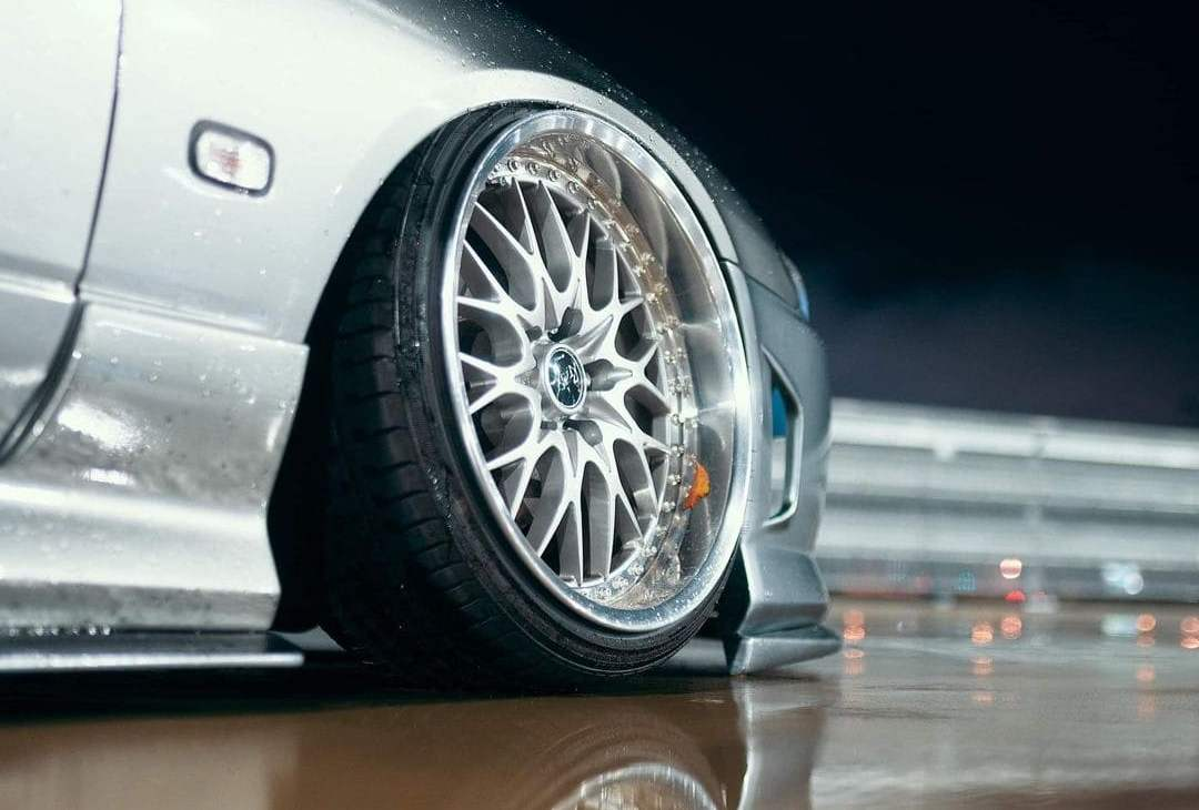 2002 S15 Nissan Silvia With Rims
