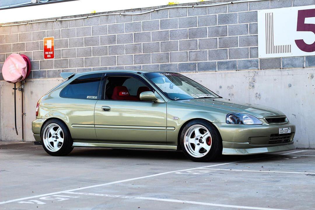 2000 JDM Honda Civic Hatchback