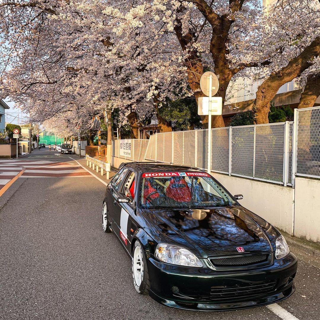 1999 JDM Honda Civic Type R Front End