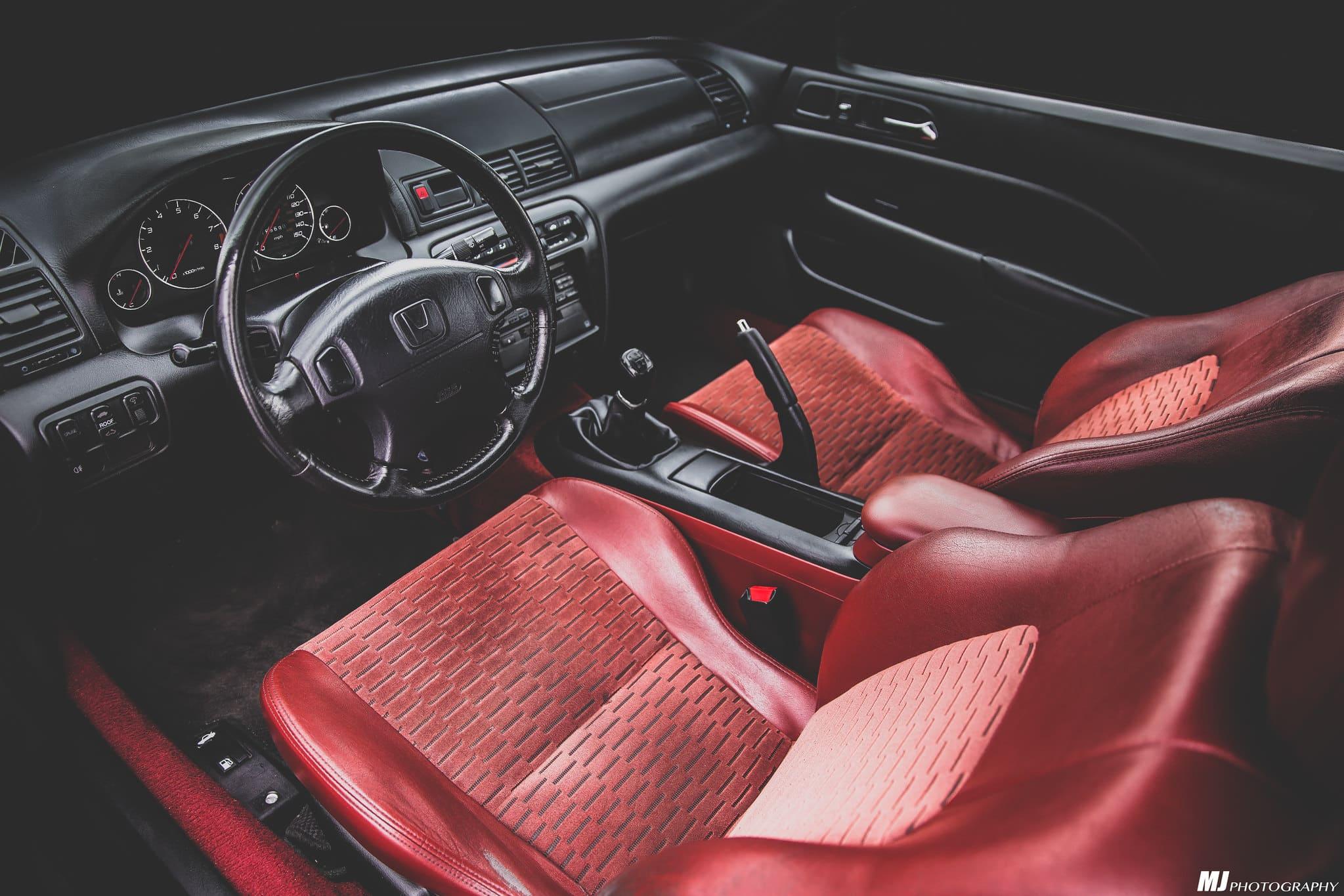 1999 Honda Prelude SH Interior