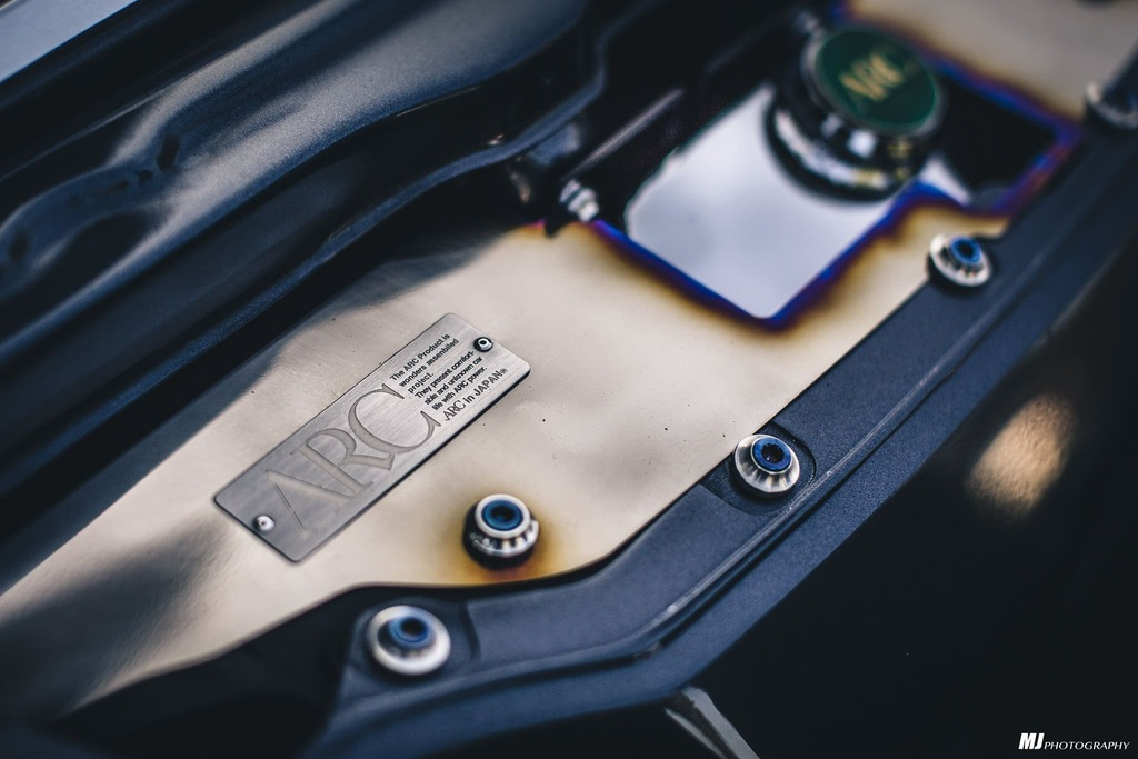 1994 Honda Prelude Engine bay