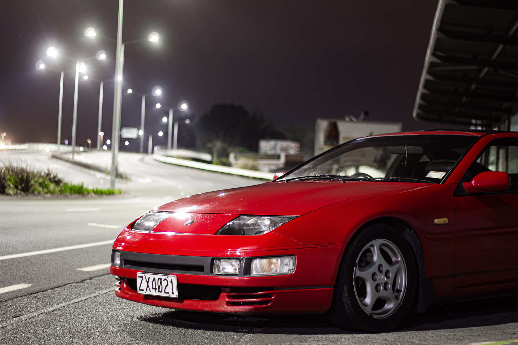 1989 Nissan 300zx Front End