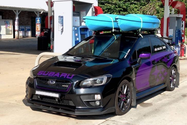 Wrapped 2016 Subaru