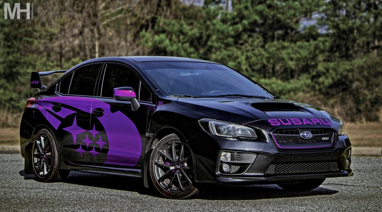 Tinted 2016 Subaru WRX