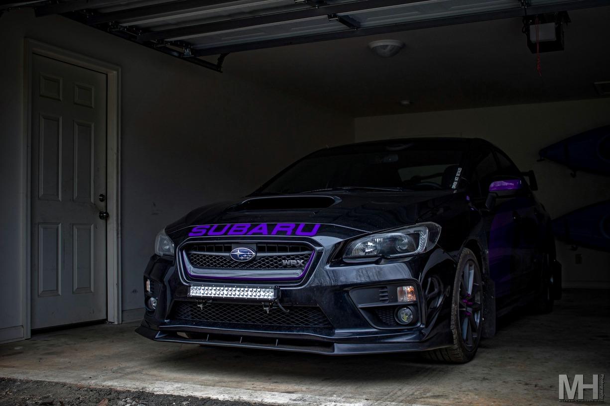 2016 Subaru WRX Front lip