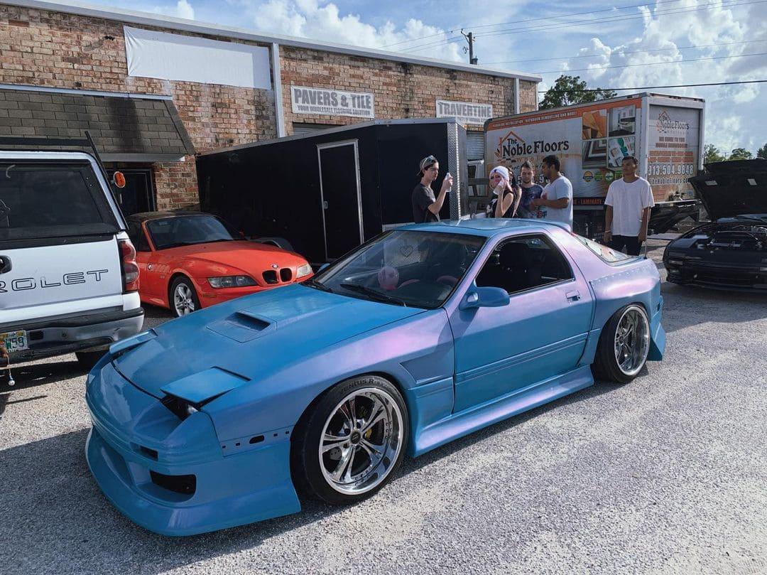 Modded 1988 Mazda RX7 FC