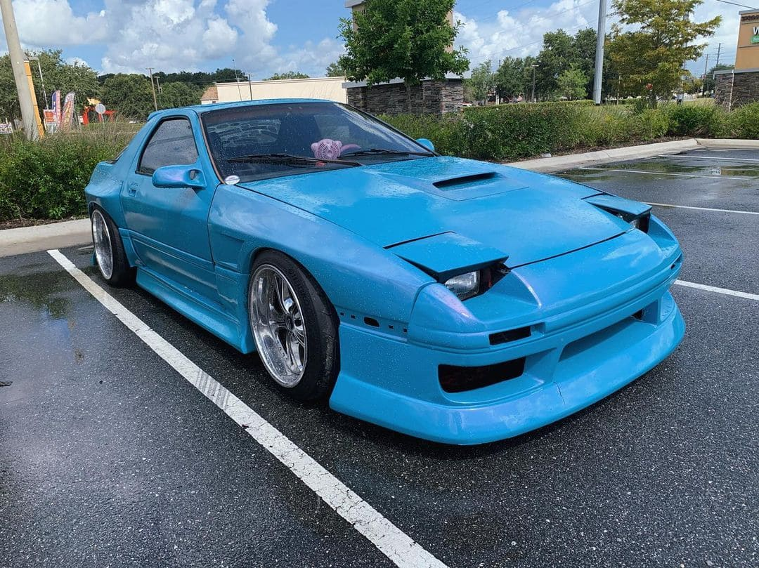 1988 Mazda RX7 FC With Rims