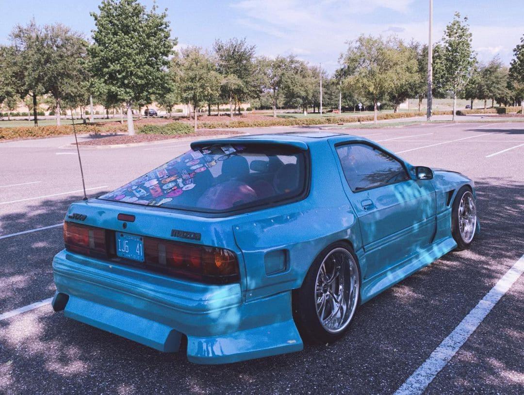 Wide Body 1988 Mazda RX7 FC