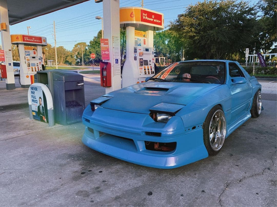 1988 Mazda RX7 FC Front End