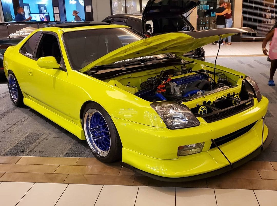 1997 Honda Prelude Front End
