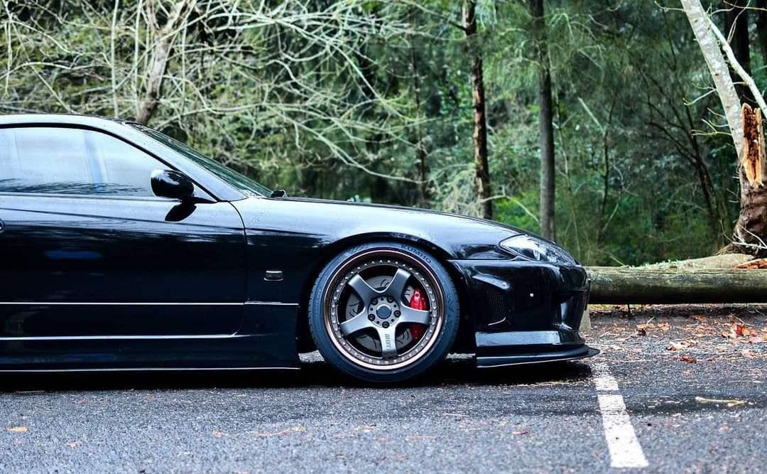 Nissan Silvia With Rims