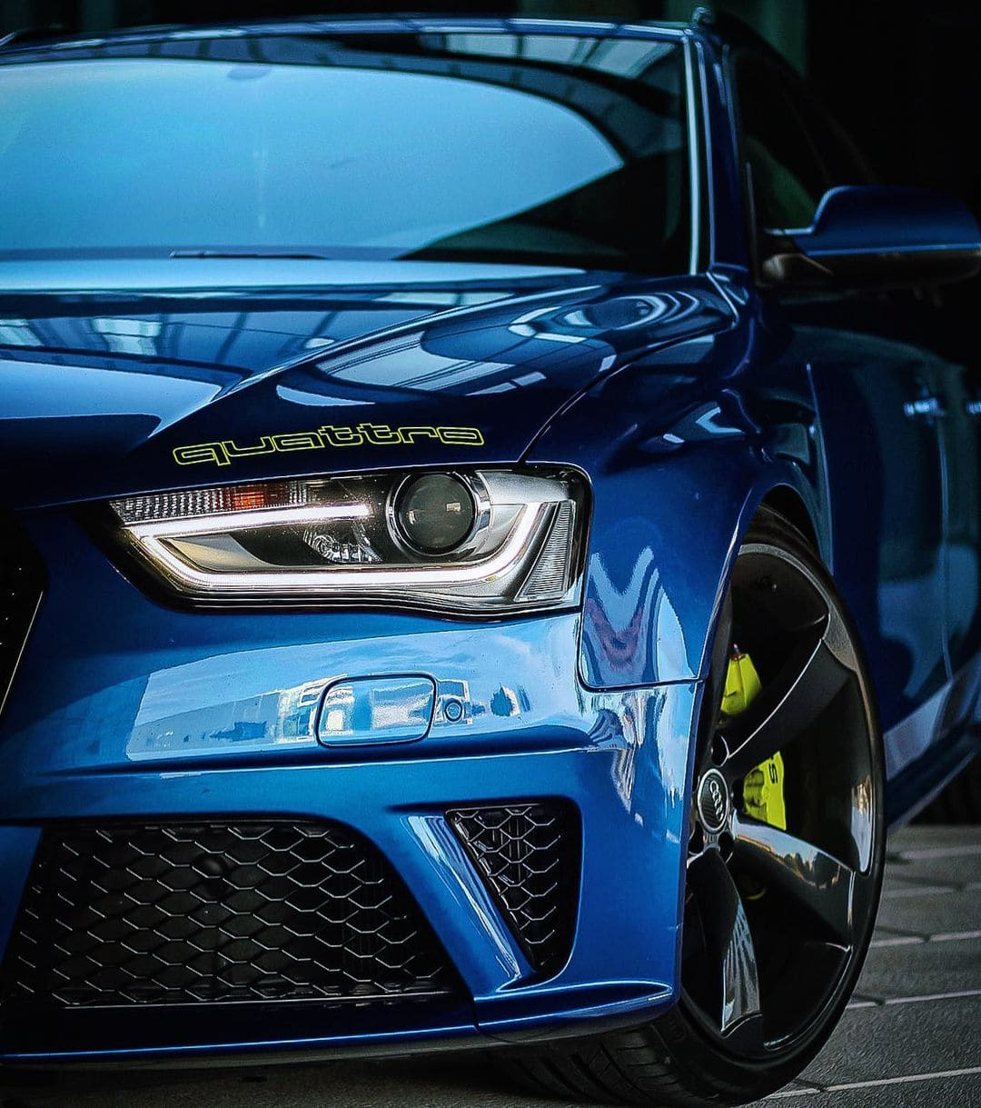 2016 Audi RS4 Front End