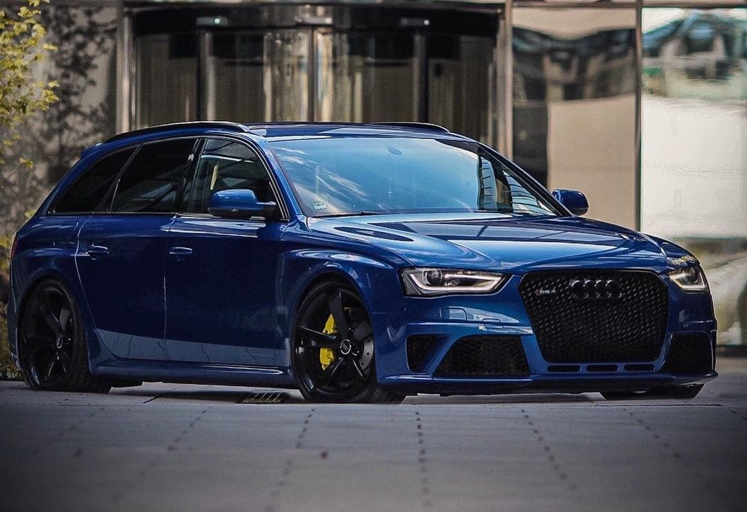 2016 Audi RS4 On Air suspension