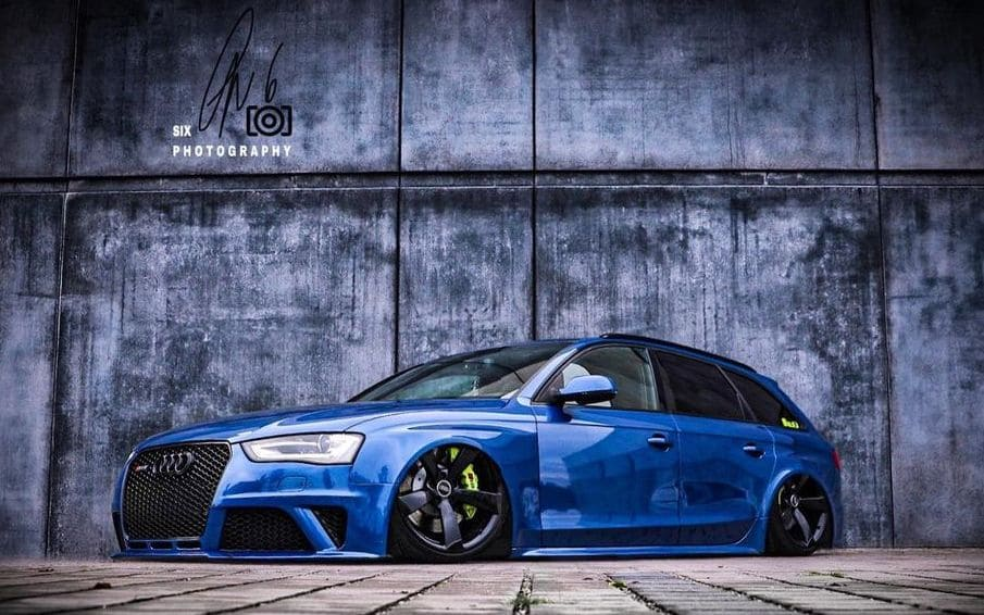 2016 Audi RS4 With Rims