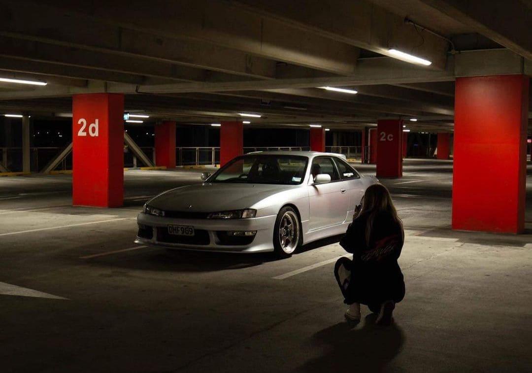 Lowered 1996 Nissan Silvia S14