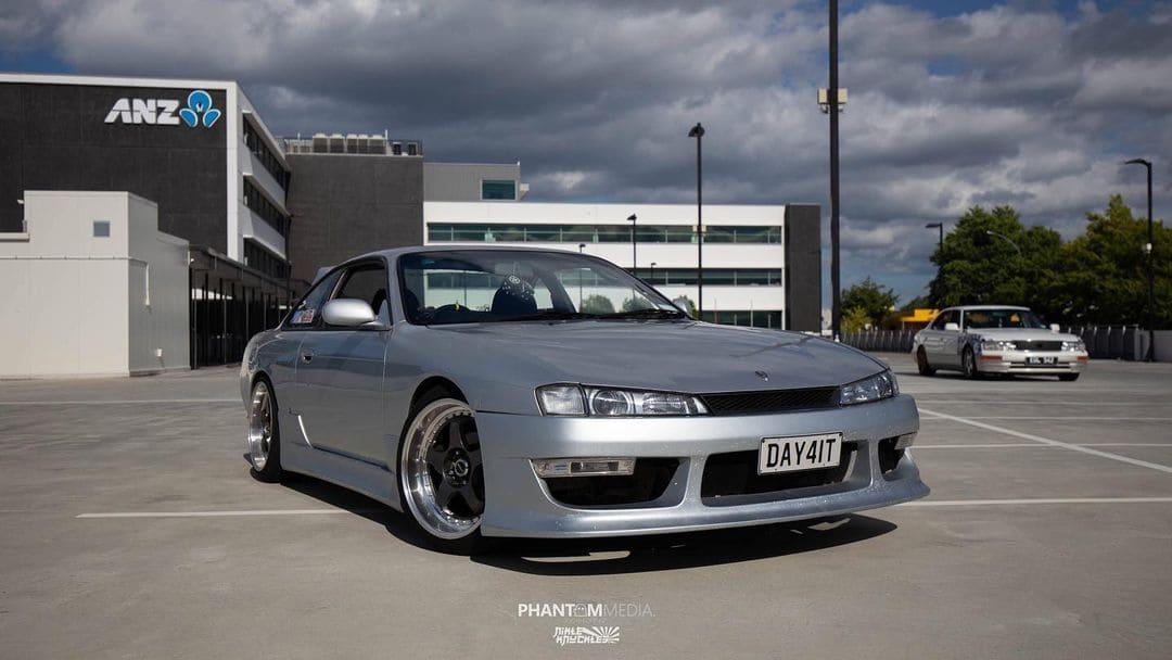 Stanced 1996 Nissan Silvia S14