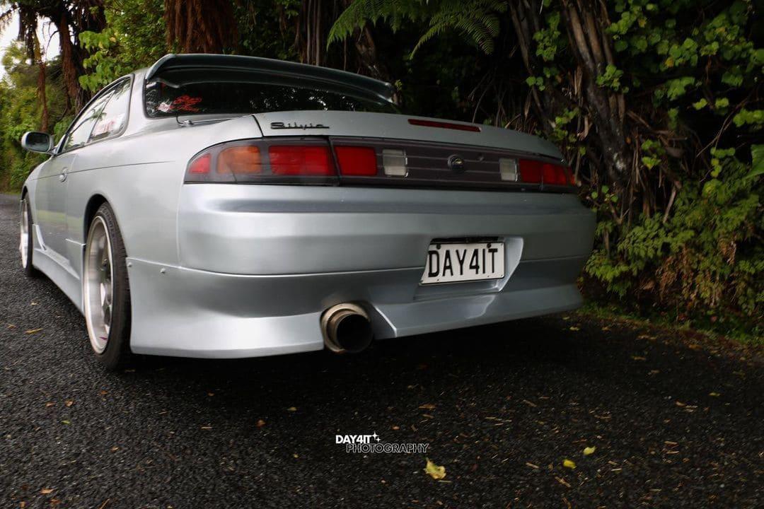 1996 Nissan Silvia S14 Rear End