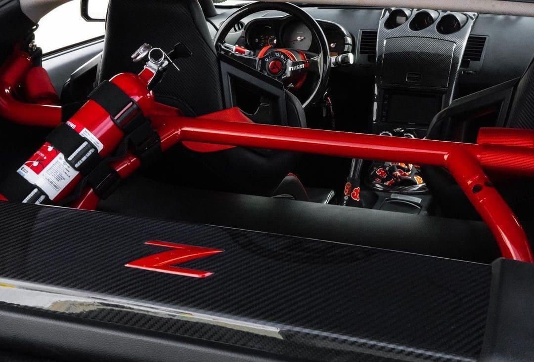 Modified Nissan 350z Nismo