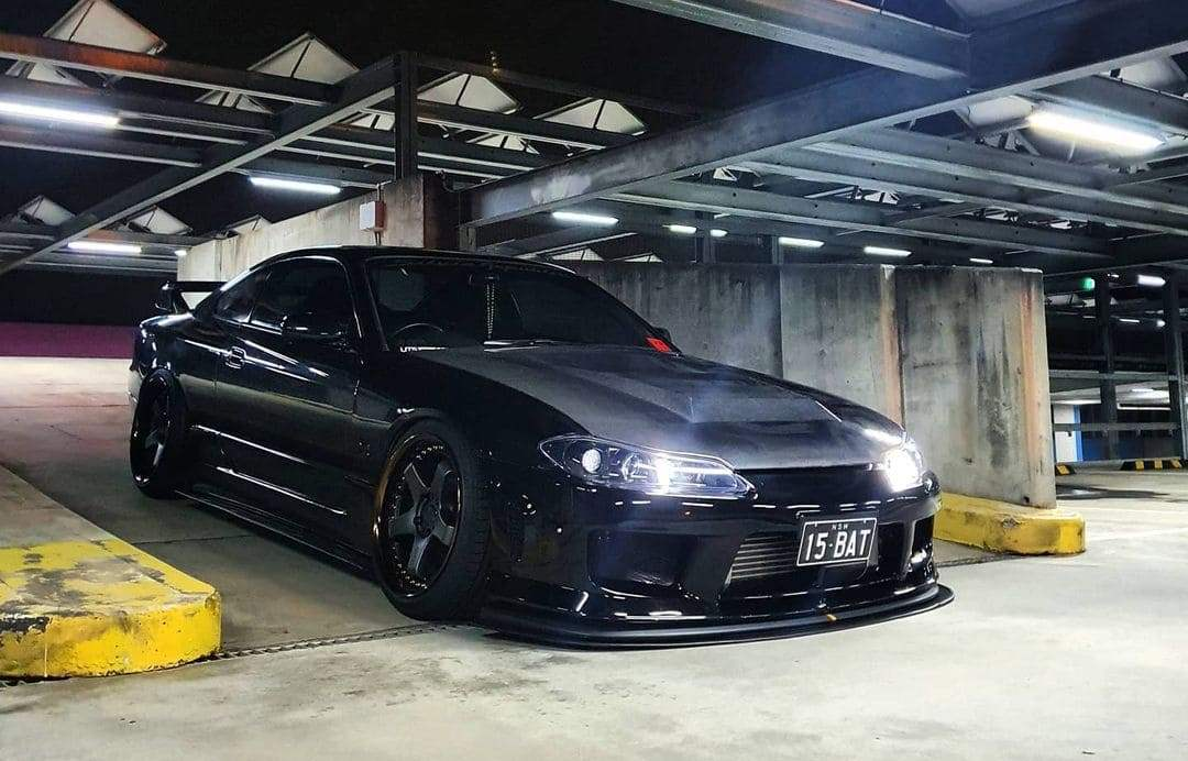 Tinted 2001 S15 Nissan Silvia With Rims