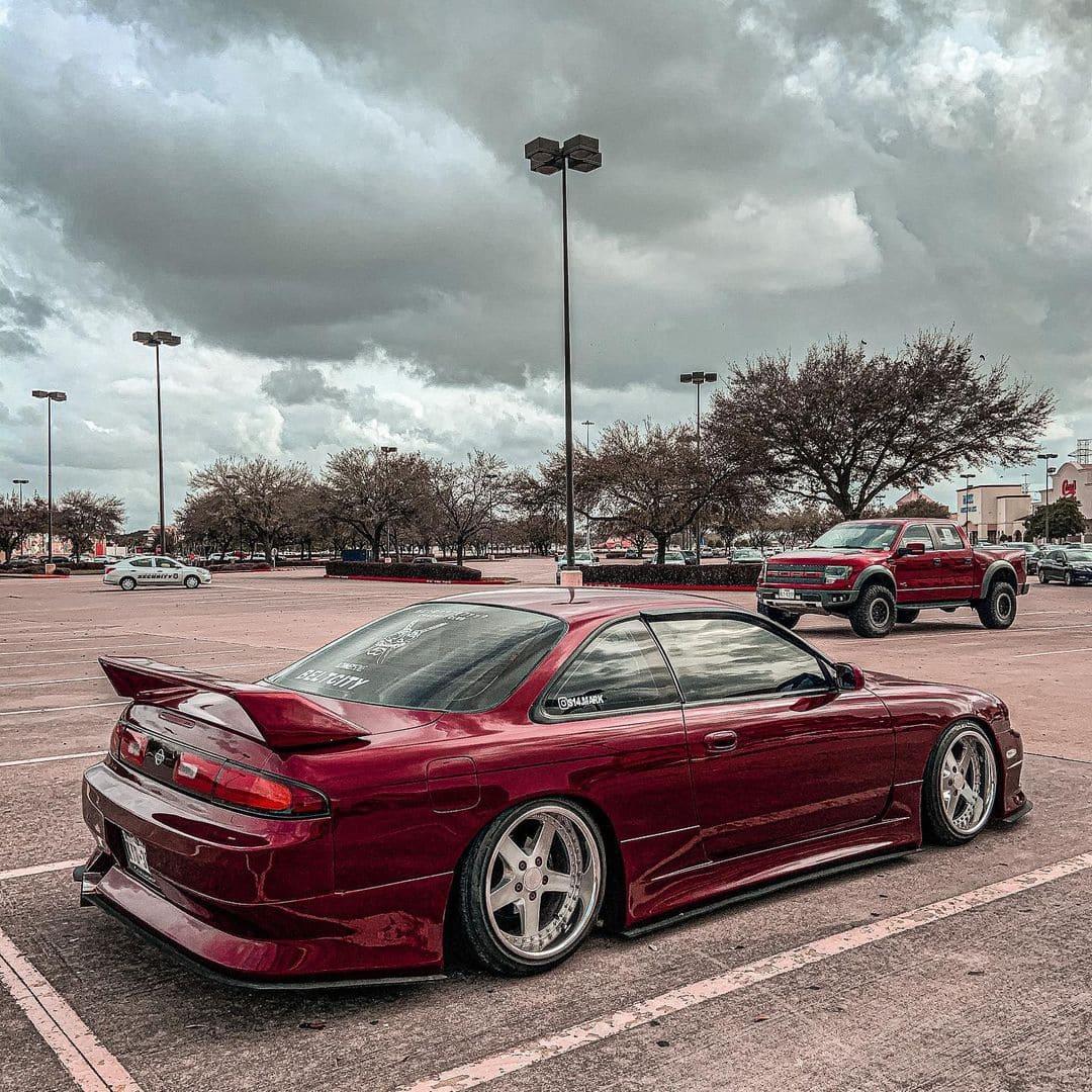 1995 Nissan 240SX Rear End