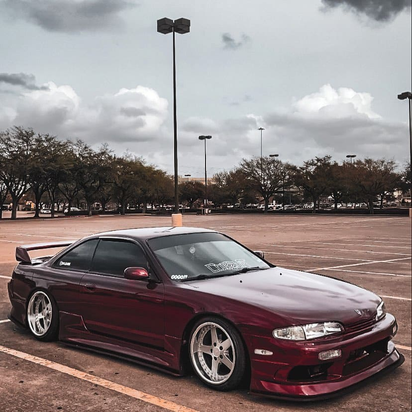 Tinted Nissan 240SX
