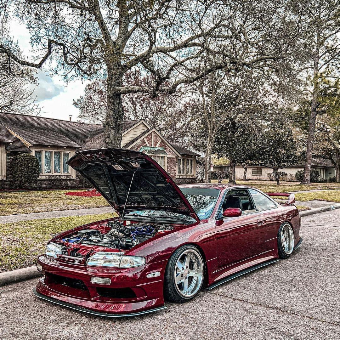 1995 Nissan 240SX Front lip