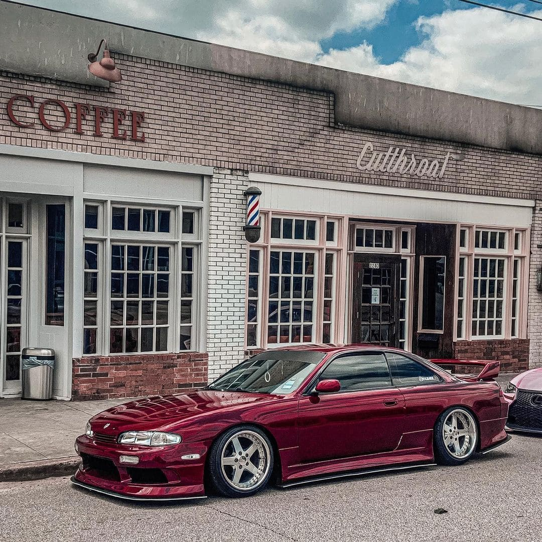 1995 Nissan 240SX With Rims