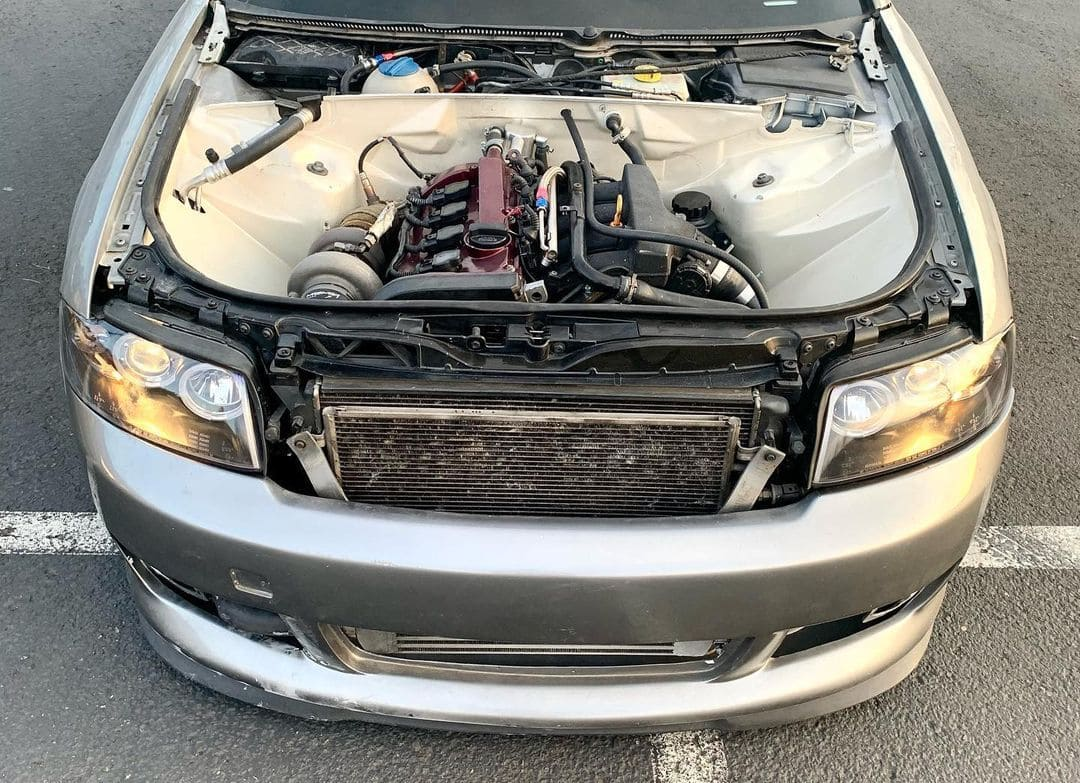 Audi A4 Wagon Engine bay