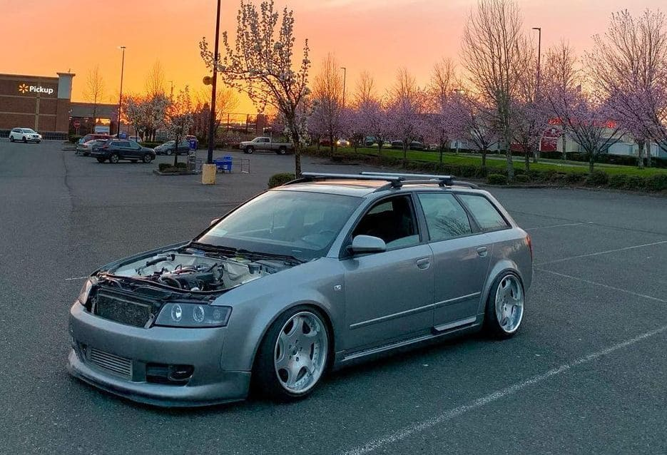 Audi A4 Wagon Front End