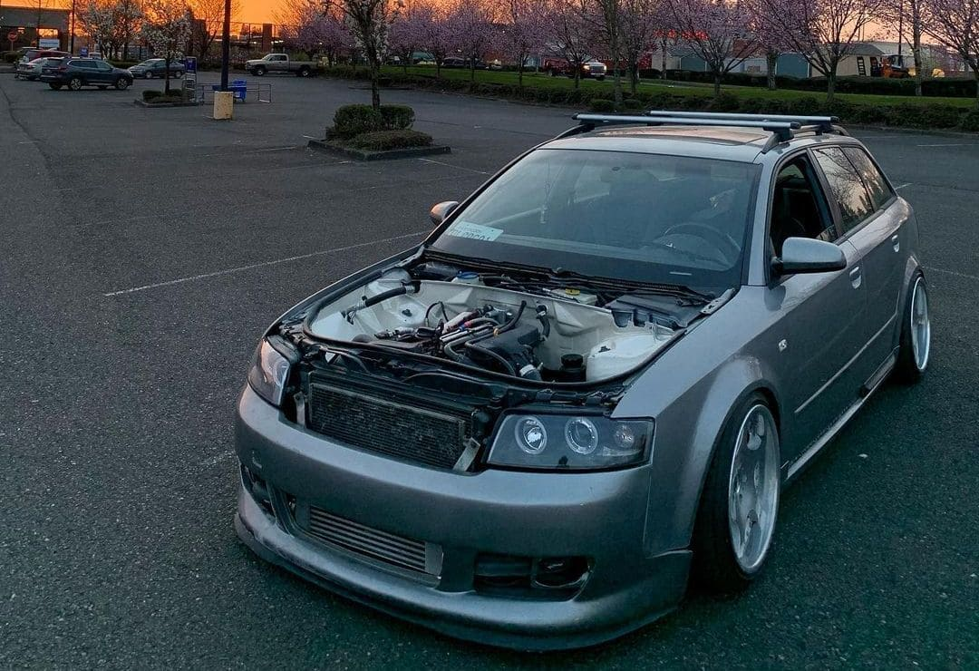 Audi A4 Wagon On Air suspension