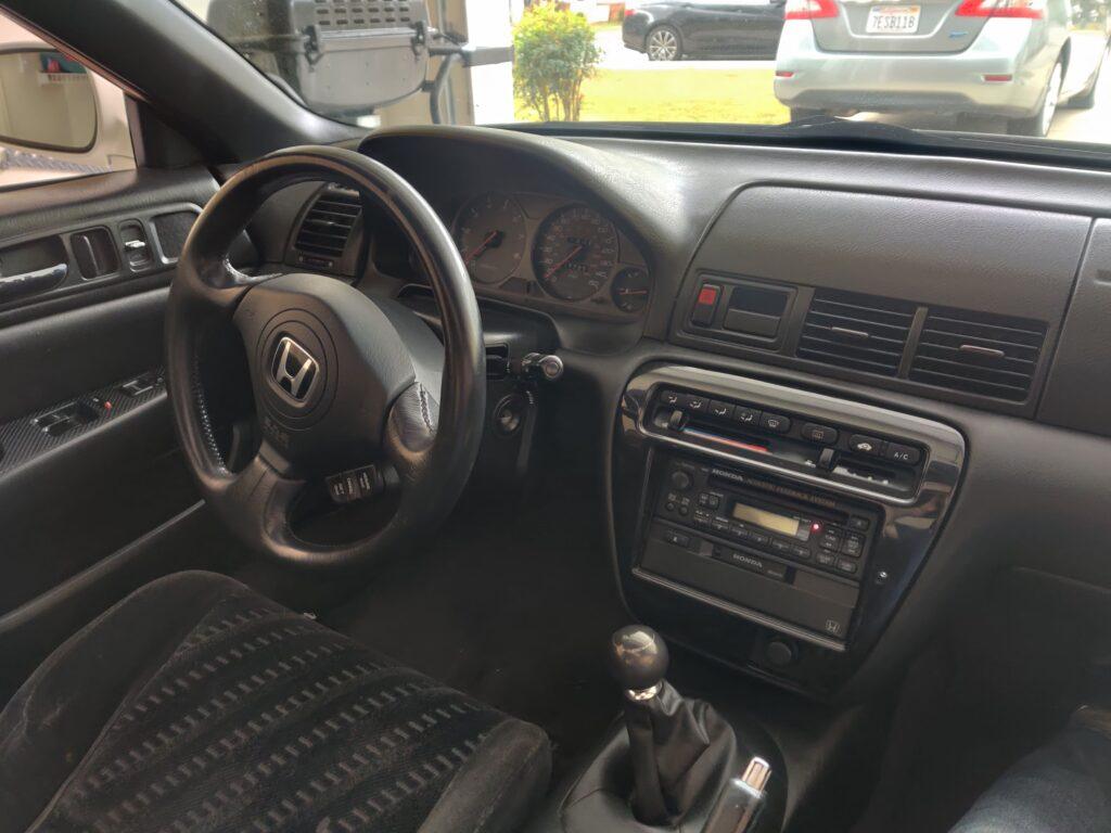 2001 Honda Prelude Interior