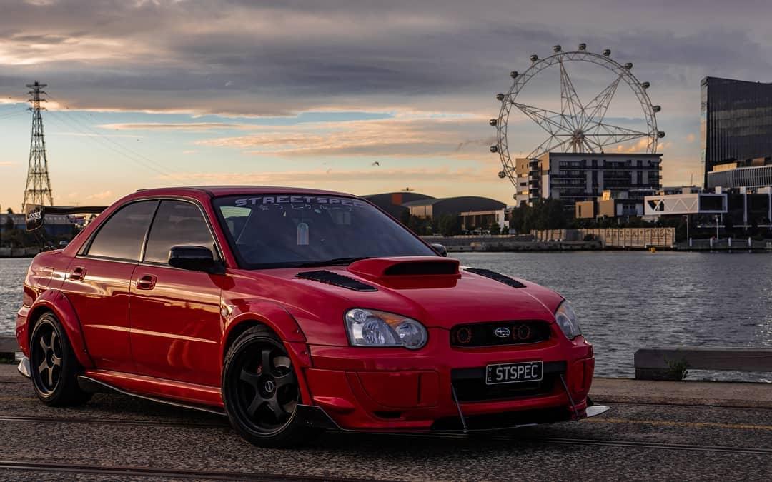 Subaru WRX Front End