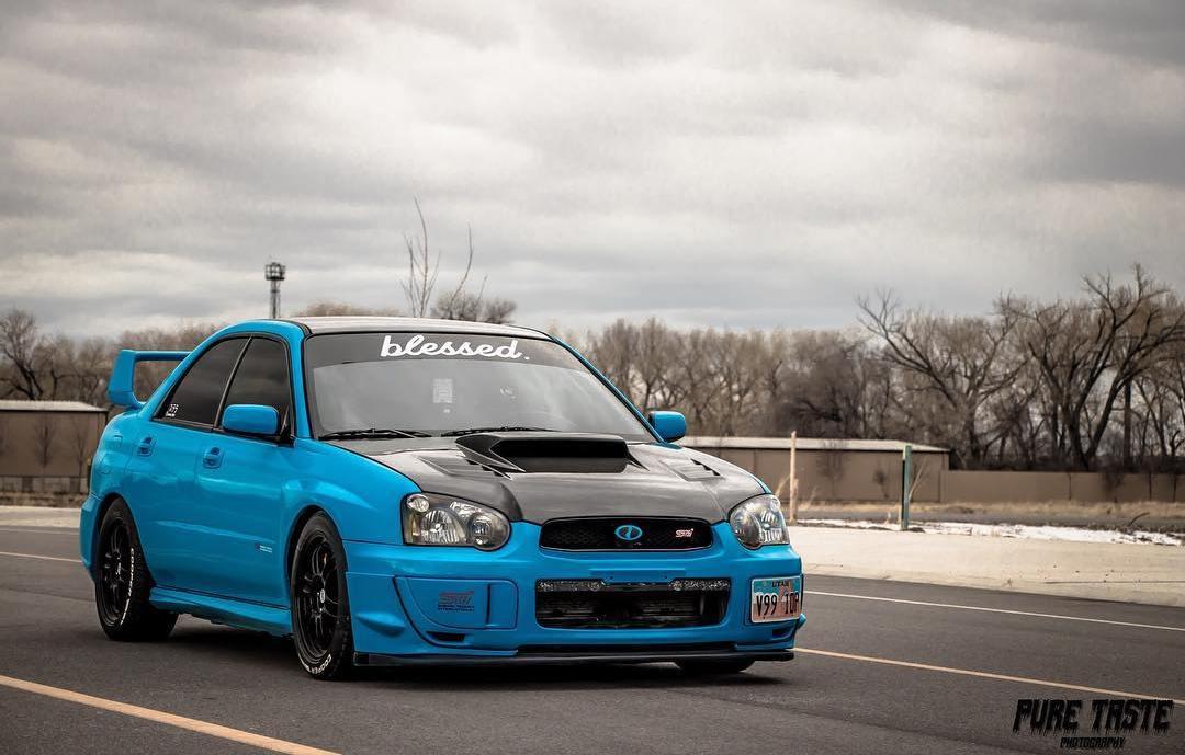 Subaru STI Hood Scoop