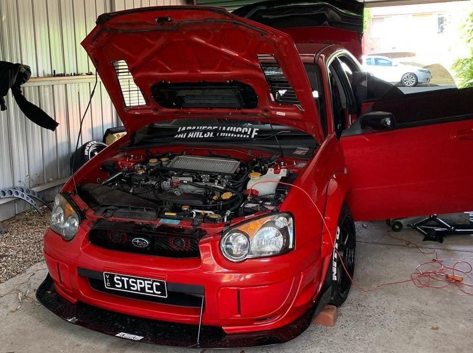 Subaru WRX Engine bay