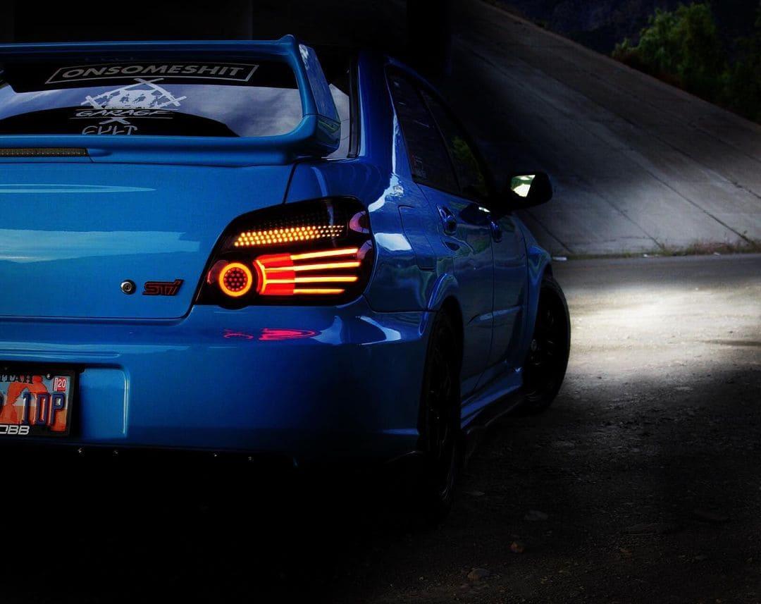 Subaru STI Rear End