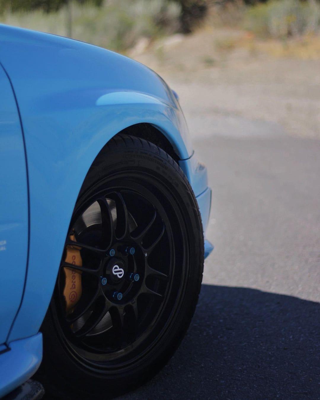 Subaru STI With Rims