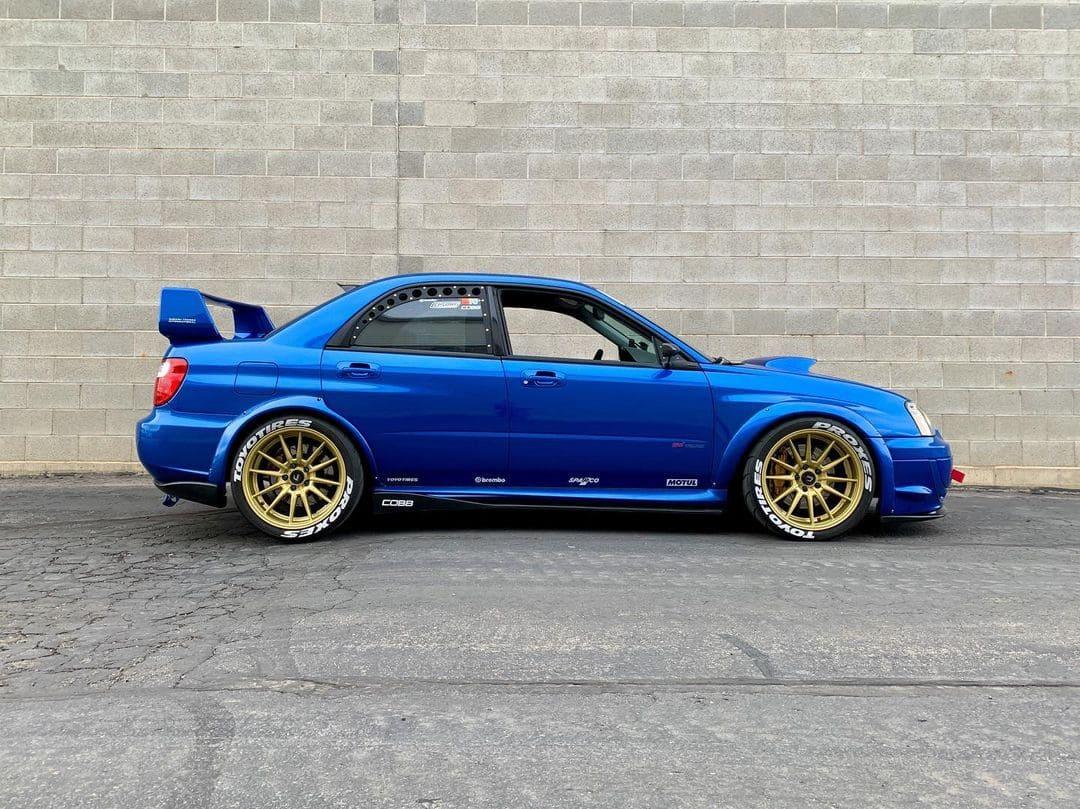 Subaru STI Rims