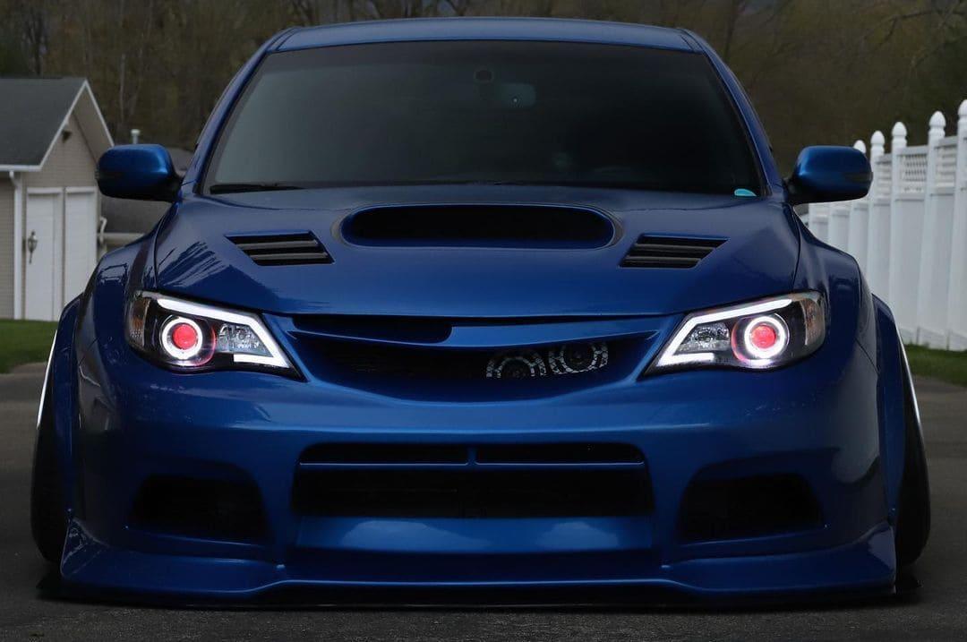 Subaru STI Hatchback Headlights