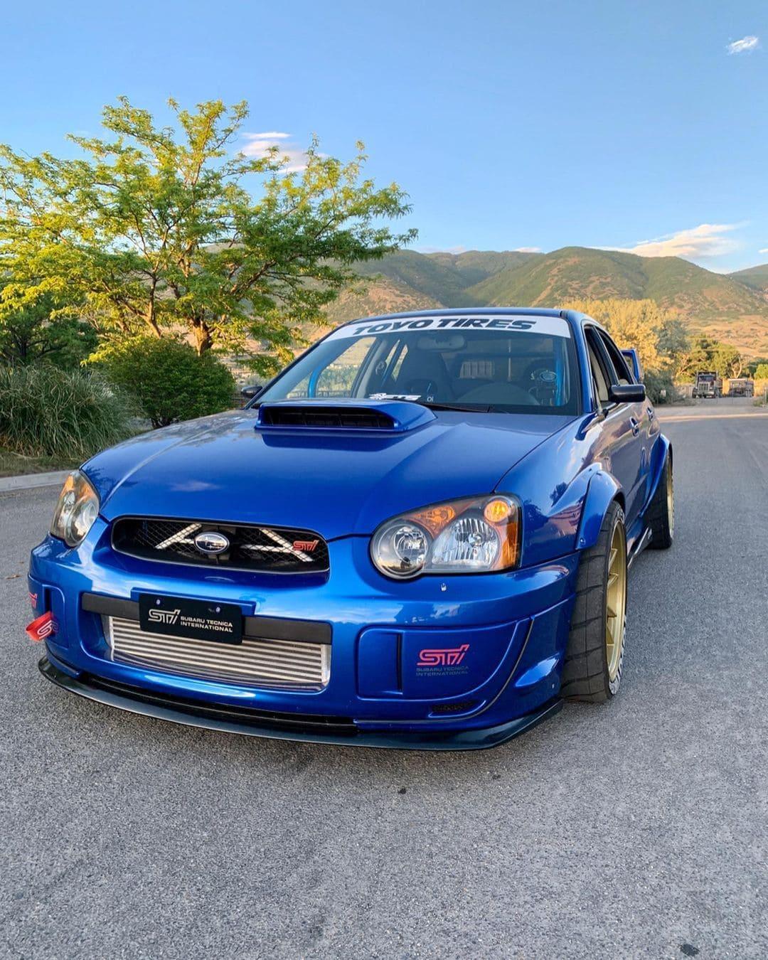 Subaru STI Front End