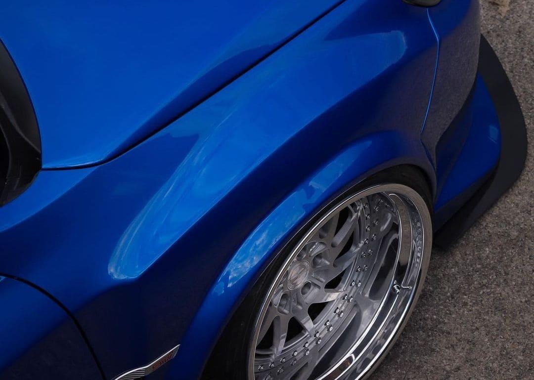 Stanced Subaru STI Hatchback